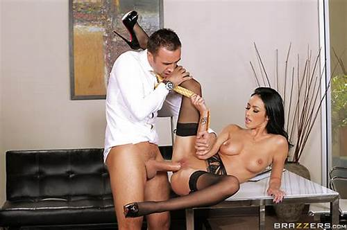 Sultry Teens Secretary Tease Her Tiny Boss To Banged Him #Breanne #Benson