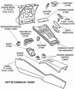 1977-82 Console    Dash - Diagram View