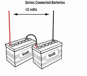Ar 0146  Show Four 12 Volt Batteries Wired As A 12 Volt Bank Parallel Wiring Download Diagram