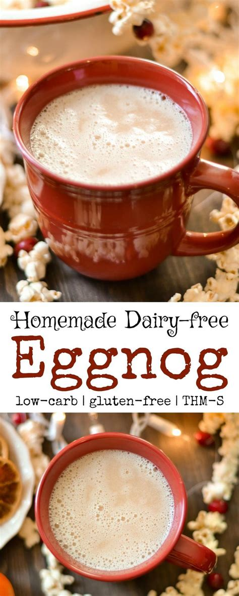 And after researching, i was surprised to find that many of my recipes are actually low carb recipes or keto recipes without that having ever been the goal! Eggnog - Dairy Free, Sugar Free | Recipe | Dairy free low carb