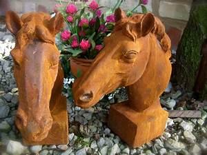 Pferdekopf Aus Holz : pferdekopf skulptur f r pfosten und mauerpfeiler ~ A.2002-acura-tl-radio.info Haus und Dekorationen