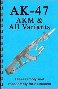 Ak-47 Akm Aks Rifle Guide Manual Book