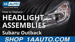 2013 Subaru Outback Headlight Bulb Replacement