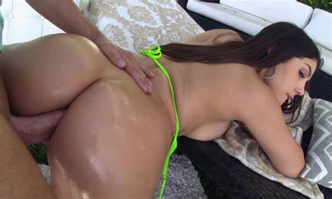 Latin Young Gina Valentina Ass Drill And Creampied