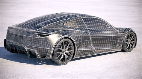 Get Free Tesla 3D Model Pictures