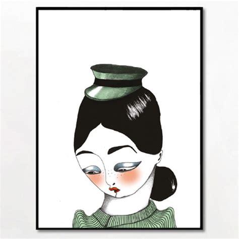 Bob Noon Illustration - Uniform plakat i ramme fra Bob Noon