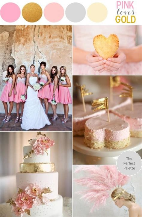 Pink And Gold Wedding Theme ♥ Sparkly Pink Wedding Ideas