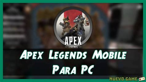 We provide guide for mobile legend 2019 apk 1.0 file for windows (10,8,7,xp), pc on this page you can find guide for mobile legend 2019 apk detail and permissions and click download apk button to direct download mobile legend guide 2019 is the latest moba play guide. Apex Legends Mobile para PC Windows y Mac: Instalar Apk
