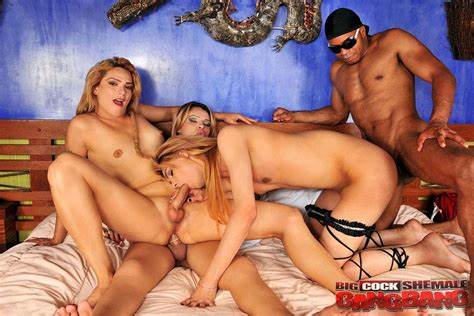 Transsexual With Large Penis Leads Group