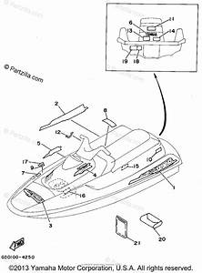 Yamaha Waverunner 1994 Oem Parts Diagram For Graphic