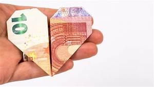 Herz Basteln Geld : geld falten herz ein kreatives hochzeitsgeschenk aus geld ~ A.2002-acura-tl-radio.info Haus und Dekorationen