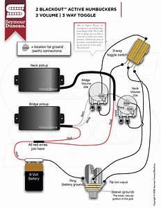 Seymour Duncan Blackout Pickups Wiring Diagram