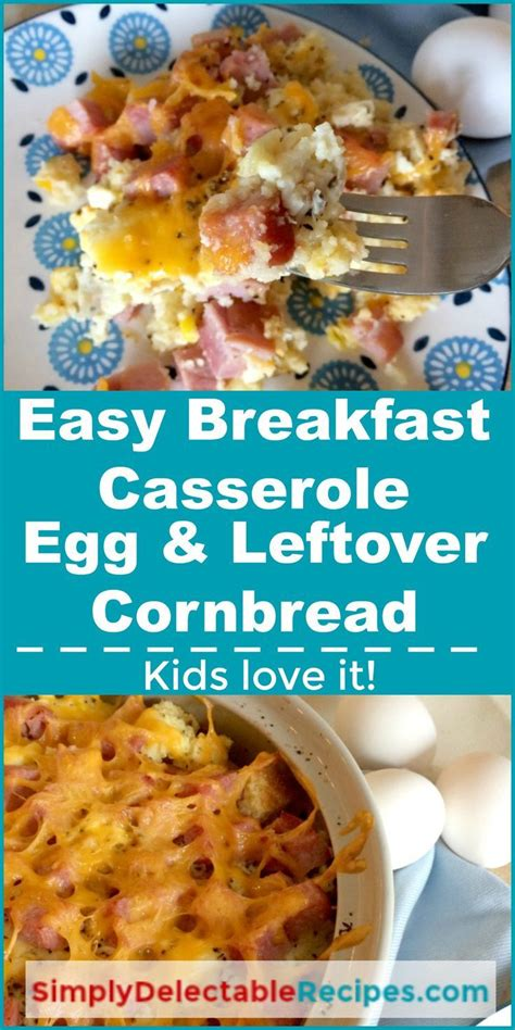 I served this with bacon and fruit salad. Leftover Cornbread - How to Make Cornbread Croutons / 2 photos of leftover mashed potato cornbread.