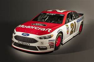 Ford Channels Facelifted 2017 Fusion Into New NASCAR ...