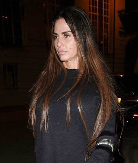 The tv star, 43, was taken to hospital as police were called. KATIE PRICE Out for Dinner in Manchester 02/15/2018 - HawtCelebs