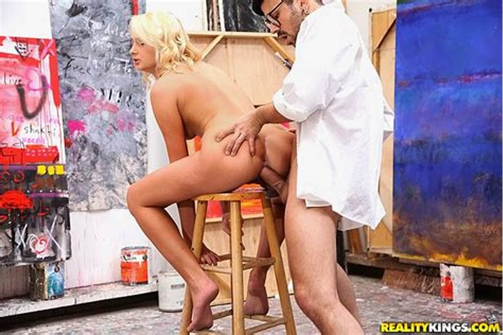 #Horny #Art #Class #Model #Naked #Fucked #Hard #On #The #Bar #Stool #Doggy #Style #Hot #Ass #Student #Sex
