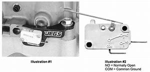 16501  Installation Instructions For Nitrous Switch