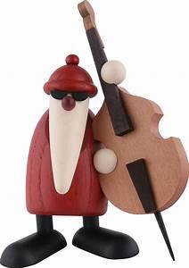 Köhler Kunsthandwerk Shop : santa claus playing the double bass 12 cm by bj rn k hler kunsthandwerk ~ Sanjose-hotels-ca.com Haus und Dekorationen