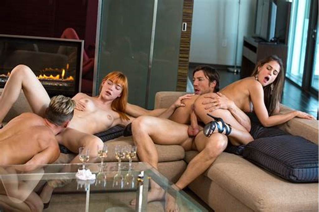 #Anny #Aurora #And #Caprice #In #4 #Way #In #4K