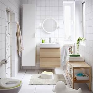 Commode Scandinave Ikea : salle de bains design moderne adoptez le blanc ~ Teatrodelosmanantiales.com Idées de Décoration