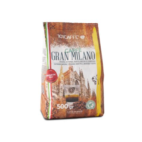 Shop online for coffee, tea and herbal infusions, sweets, drinkware, accessories and gifts. Buy Gran Milano Premium Blend 500g Coffee Beans | 101CAFFE' Singapore