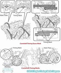 2006 Toyota Sienna Timing Mark Diagram  3 5 L 2gr