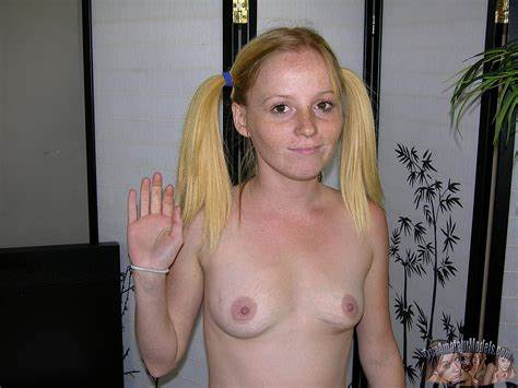 Small Titted Redhead Libertines Masturbate Together
