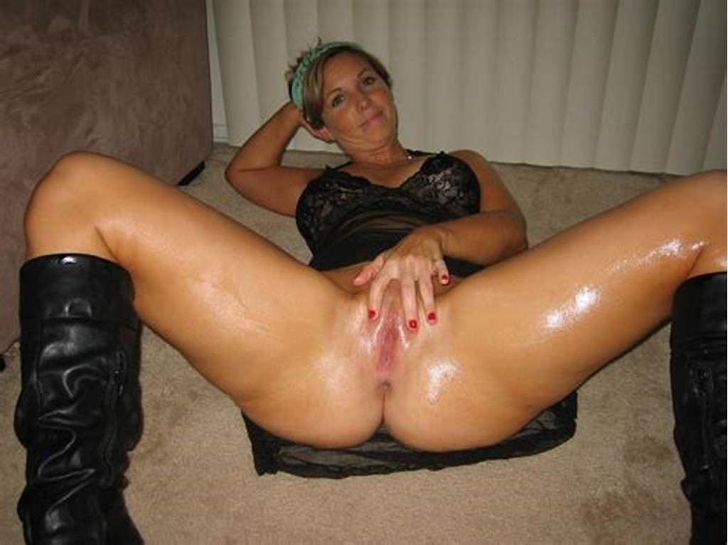 #Oiled #And #Wet #Milf