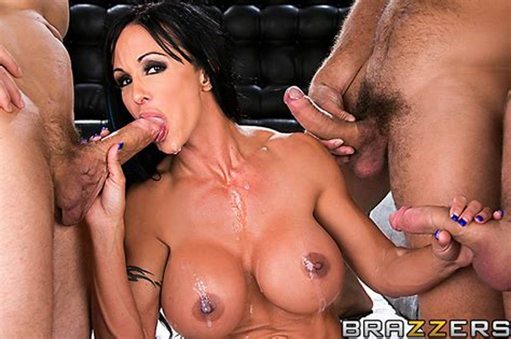 #Bar #Manager #Jewels #Jade #Gangbanged #By #Three #Cocks