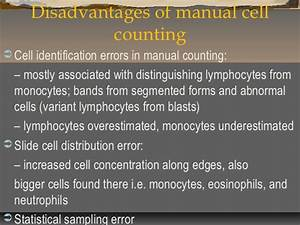 What Is Low Lymphocytes Manual Count