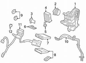 Volkswagen Routan Hvac System Wiring Harness  W  O Climate