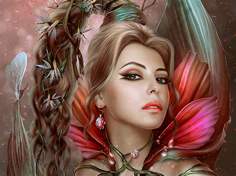 fairy hd wallpaper background image  id