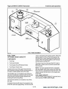 Download Tigercat Harvester H855c  Lh855c Operator U0026 39 S Pdf
