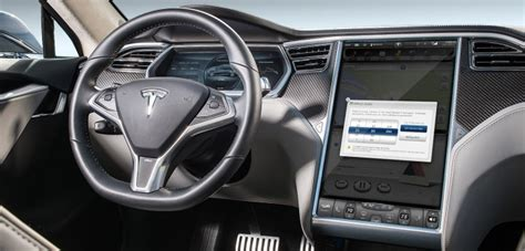 Get Inside A Tesla Car Background