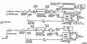 1997 Ford Taurus Gl  3 0 L Auto  Air Cond Compressor