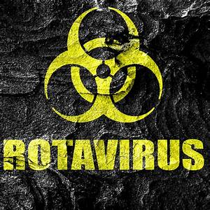 Rota Virus Particle Structure Stock Illustration