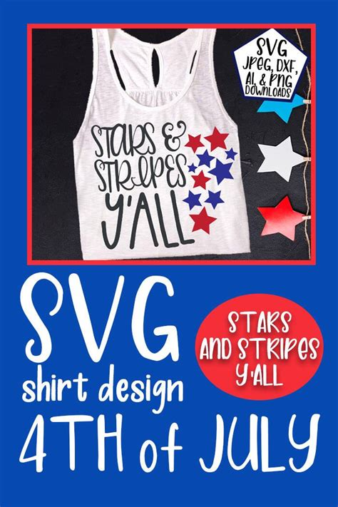 4Th Of July Shirt Svg  – 312+ Crafter Files