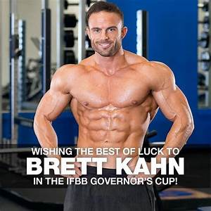 Showing M U0026s  Dymatize Athlete  Brettkahn Some Love And Wishing Him The Best Of Luck On Stage At