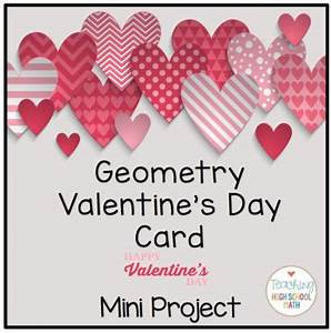 Geometry Valentine Card and Poem Project by Teaching High ...