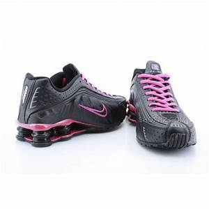 Womens Size Chart Shoes Womens Nike Shox R4 Black Peach Pink 2016 In Stock Price