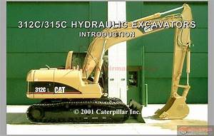 Auto Repair Manuals  Cat 312c And 315c Excavator Hydraulic