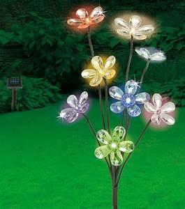 Led Lampen Garten : led solar blumenstrauss gartenbeleuchtung garten lampen aussenbeleuchtung deko ebay ~ A.2002-acura-tl-radio.info Haus und Dekorationen