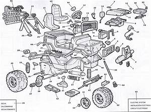 Peg Perego Gaucho Silver Edition Parts