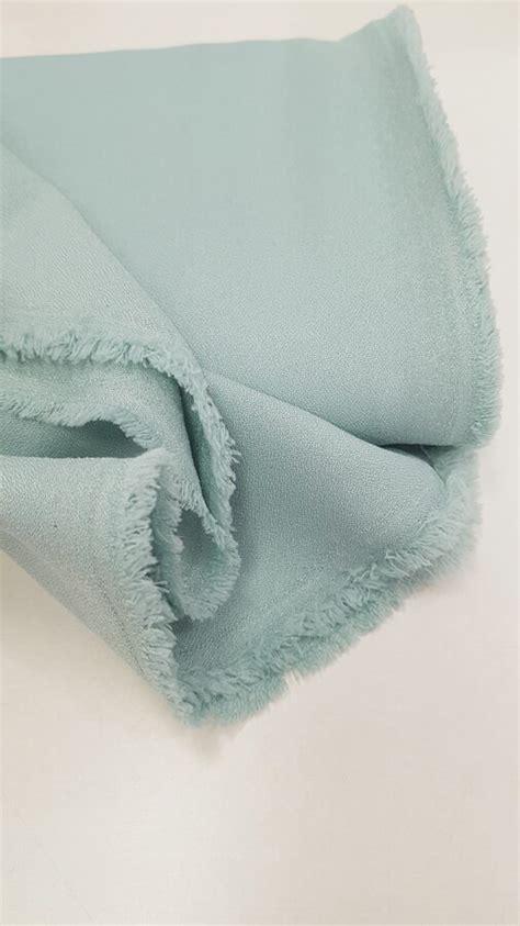 Krepa audums ar elastānu (Piparmētra) - Krepa audumi - Veikals - My Textile