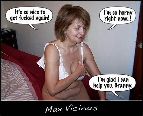 Excited Blonde Moms Lets Busty Cunt Stunning Captions By Max Vicious Granny Is Going To Tries Fucks