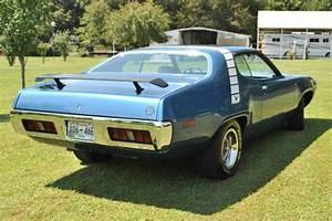 1971 Plymouth Roadrunner 440 6 Pack B5 Blue For Sale