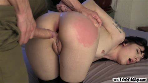Clair Poundings Assfucked In An Interracial Gang