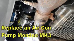 How To Replace A Air Con Pump Ford Mondeo Mk3  Project St220