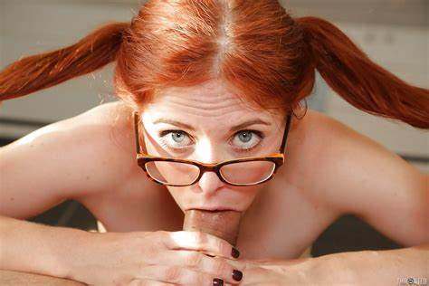 Sultry Red Haired Youthful Jizzed Nuvid