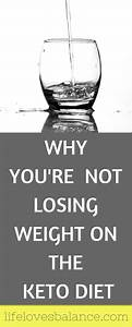 Why You U0026 39 Re Not Losing Weight On The Keto Diet